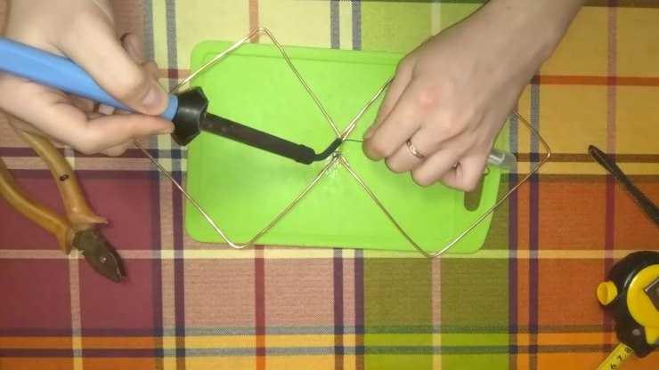 Антенна для цифрового ТВ своими руками - инструкция для начинающих как сделать мощную и простую антенну (125 фото)