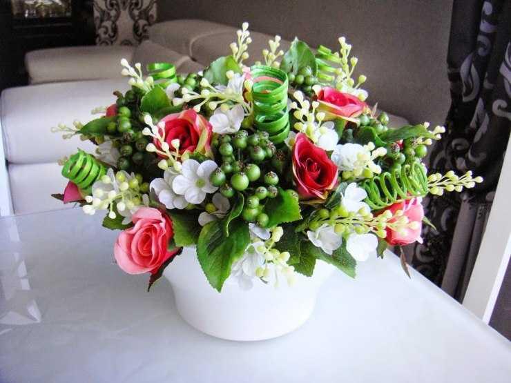 Цветы из фоамирана своими руками: идеи для начинающих и варианты изготовления поделок (125 фото)