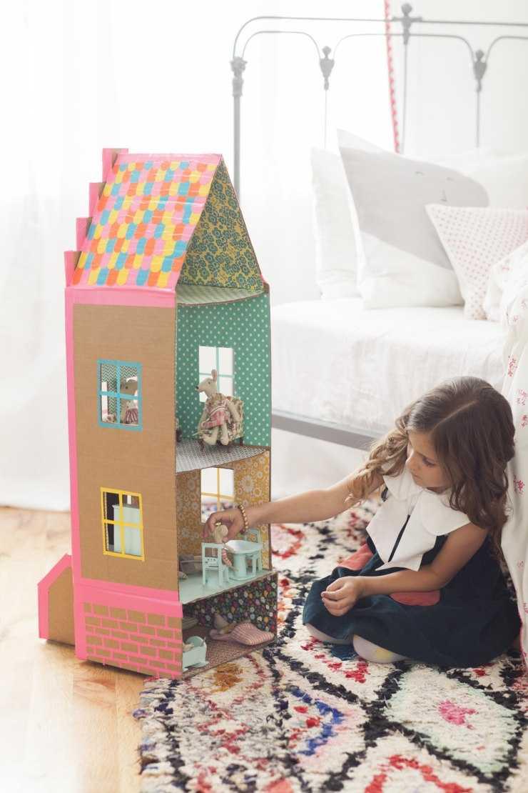 Детский домик своими руками - советы экспертов и идеи мастеров как сделать кукольный домик (140 фото + видео)