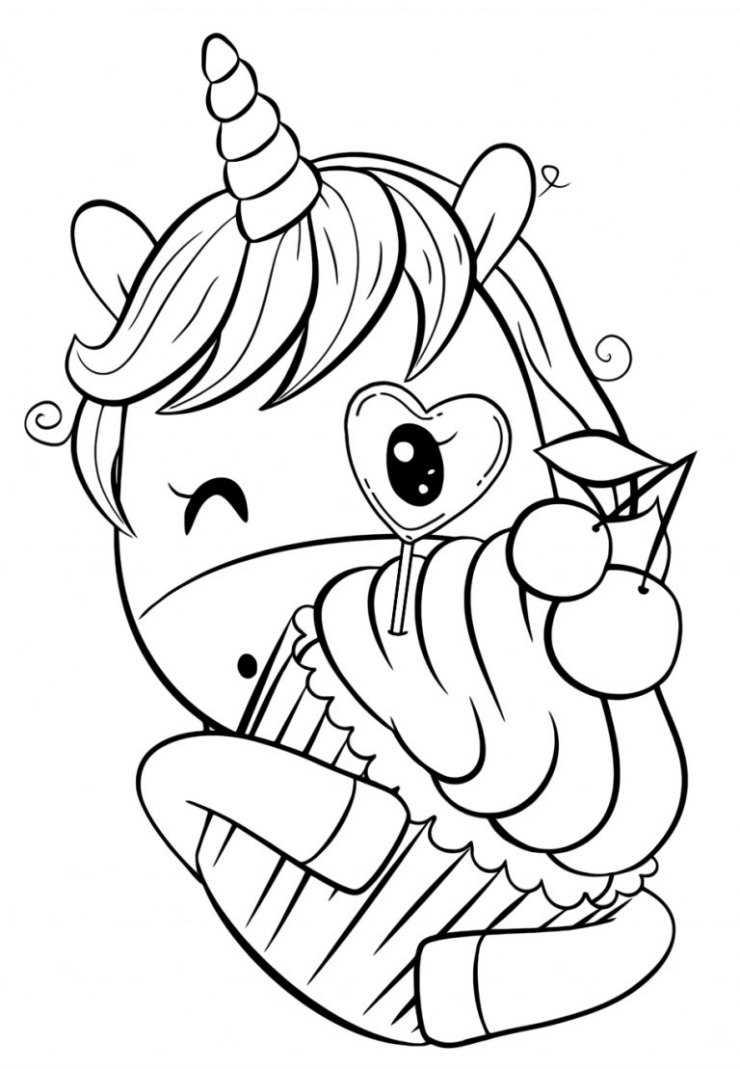Единорог для срисовки - советы по выбору картинки и подробное описание для начинающих (135 фото и видео мастер-класс)