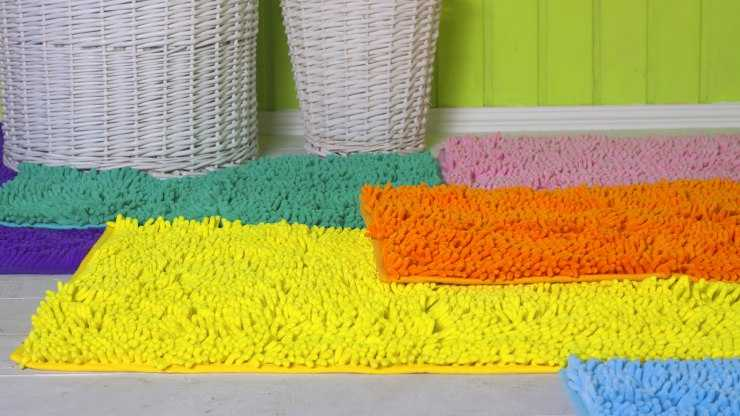 Как сделать коврик своими руками - пошаговый мастер-класс и идеи создания стильного и оригинального коврика (115 фото + видео)