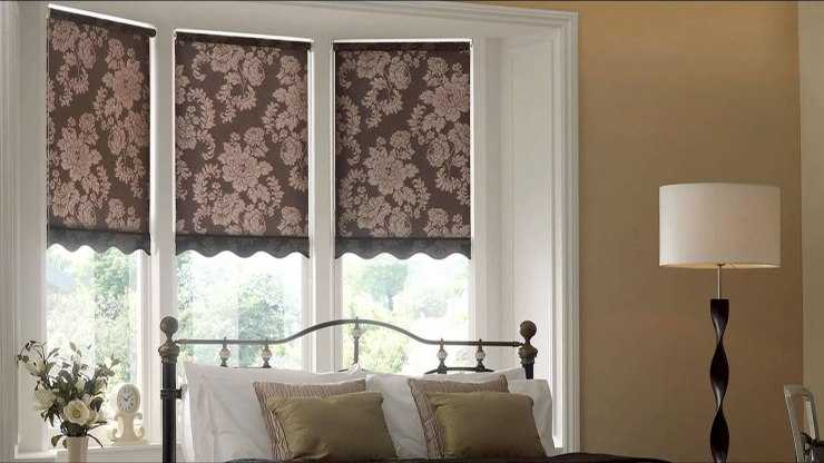 Как сделать рулонные шторы - выкройки, пошив и выбор дизайна для штор рулонного типа (130 фото)