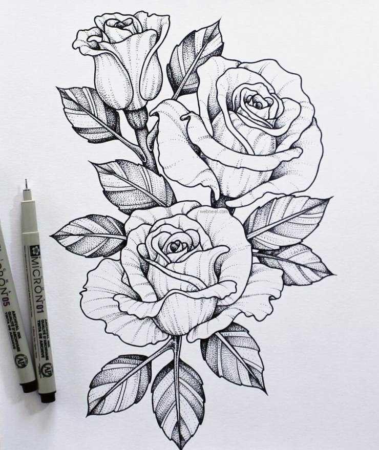 Красивые срисовки: мастер-класс как сделать рисунки своими руками. 105 фото и видео примеры срисовок