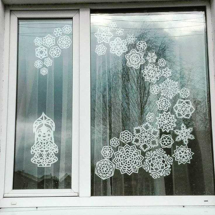 самых как делать украшения на окна картинки южных