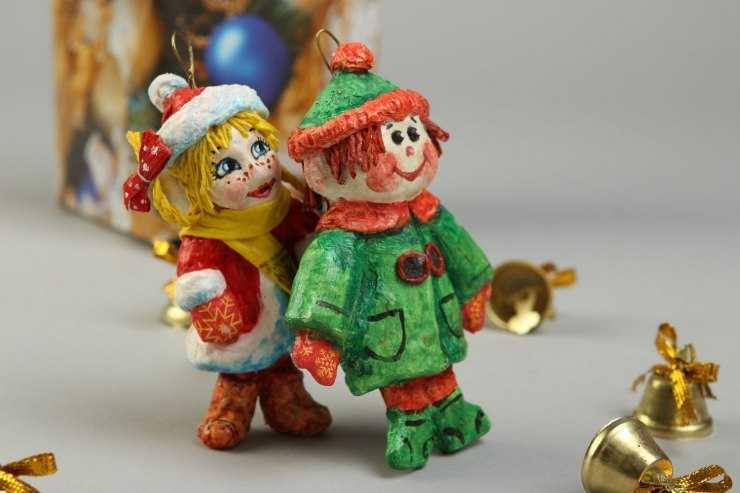 Новогодние игрушки (мастер-класс) - оригинальные игрушки на новый год и лучшие идеи для детей и родителей (125 фото + видео)