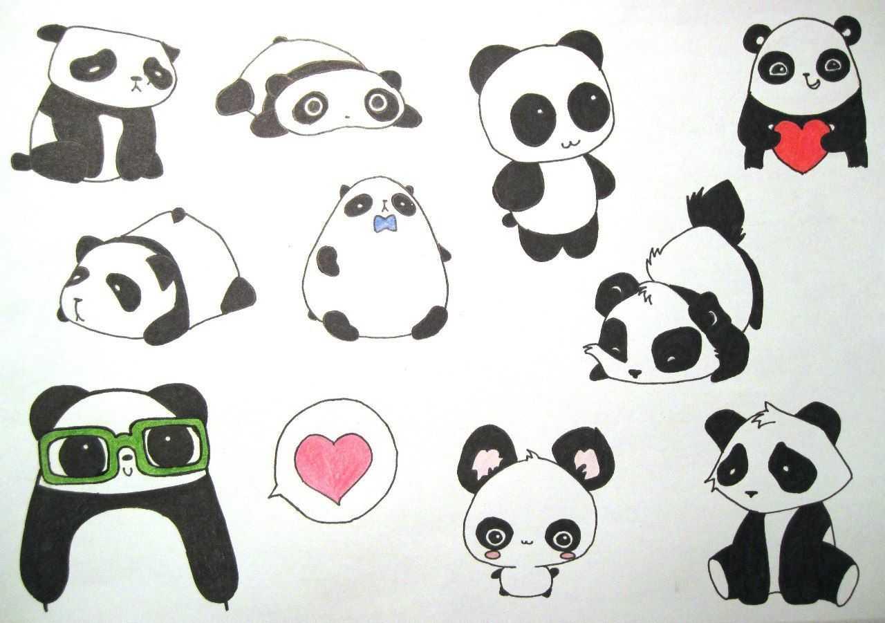 Няшные срисовки - как своими руками сделать милые и красивые картинки и срисовки (115 фото и видео)