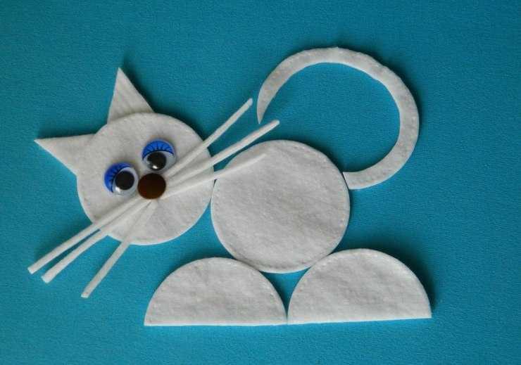 Оригинальные поделки из ватных дисков: инструкция как использовать ватные диски для создания уникальных поделок (120 фото)