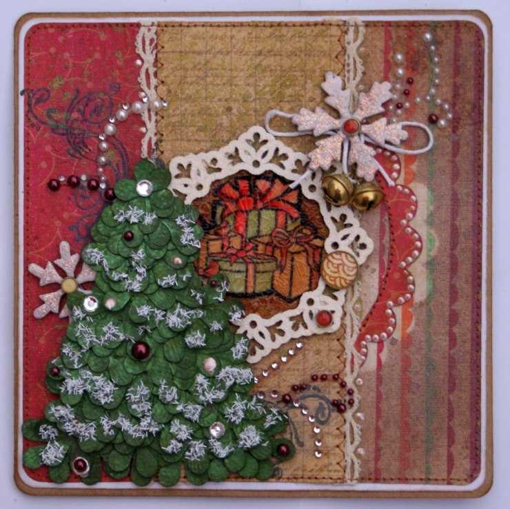 Красивые открытки с новым годом своими руками
