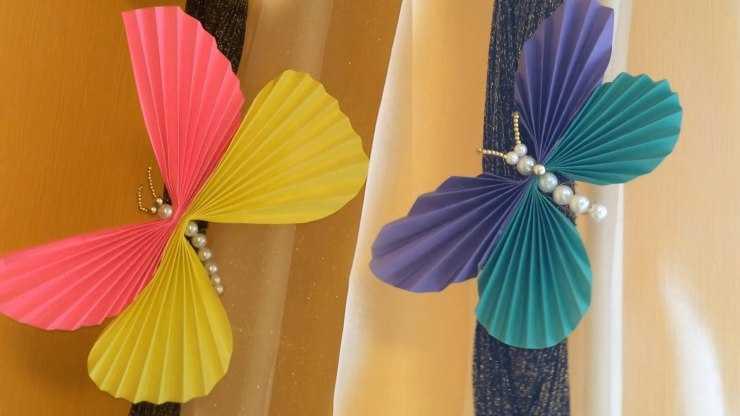 Поделка бабочка из бумаги своими руками: пошаговый мастер-класс для начинающих и идеи для мастеров (105 фото)