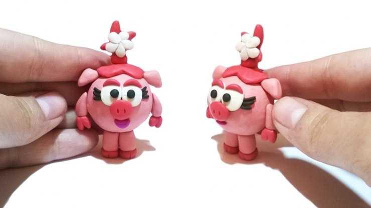 Поделка смешарик Нюша: пошаговое описание, способы и инструкция по изготовлению игрушки (110 фото + видео)