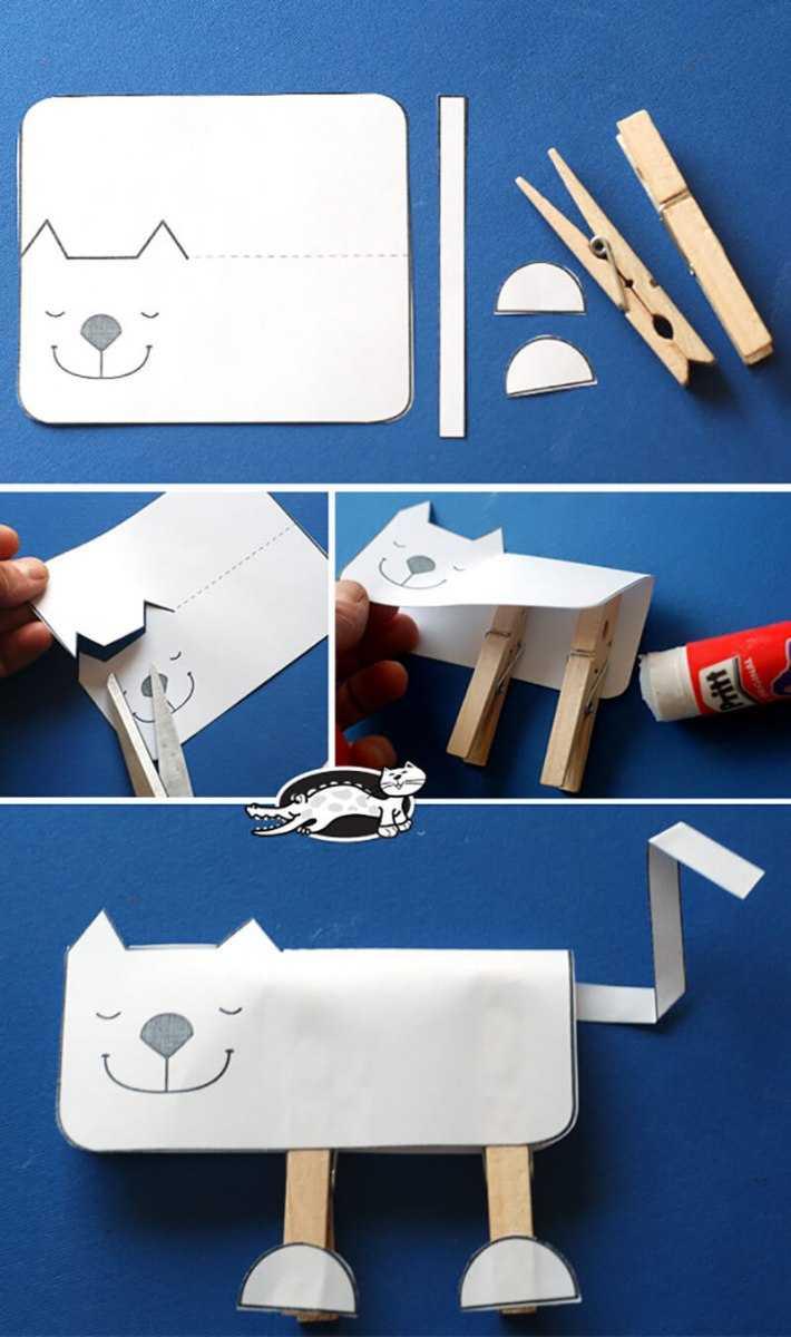 Поделки для детей 4 лет - обзор классных идей и способы как сделать детскую поделку своими руками (125 фото)