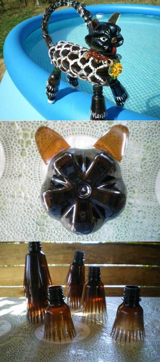 Поделки из пластиковых бутылок - популярные и оригинальные модели и их изготовление своими руками (135 фото и видео мастер-класс)