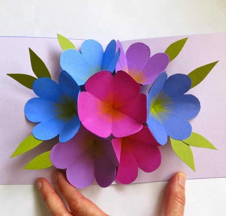 осуществилась поделки из цветной бумаги своими руками картинки подъёма