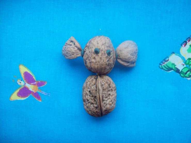 Поделки из грецких орехов - 125 фото и видео мастер-класс как сделать своими руками поделку из скорлупы