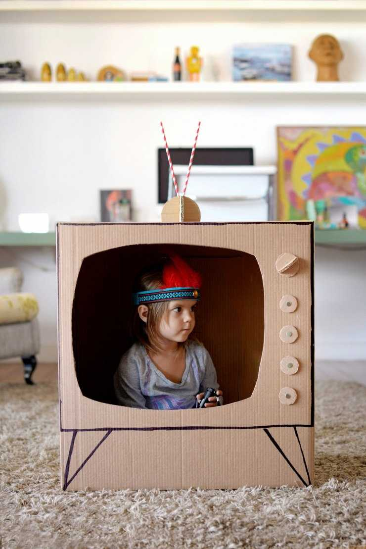 Поделки из картонных коробок: пошаговый мастер-класс и идеи как изготовить поделки своими руками (115 фото + видео)