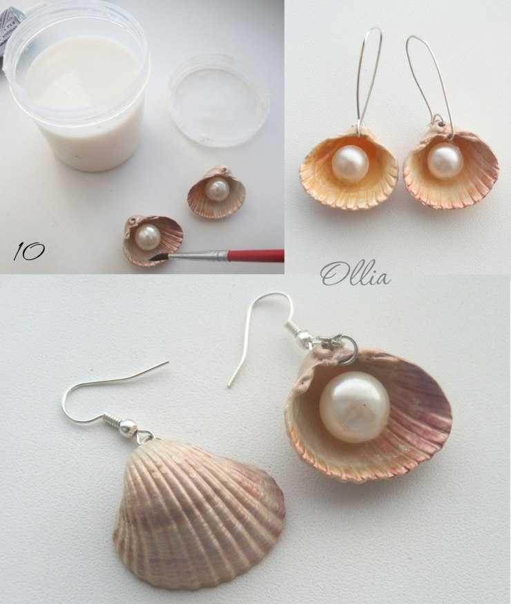 Поделки из морских ракушек своими руками - простые инструкции как сделать стильные и красивые поделки (95 фото)
