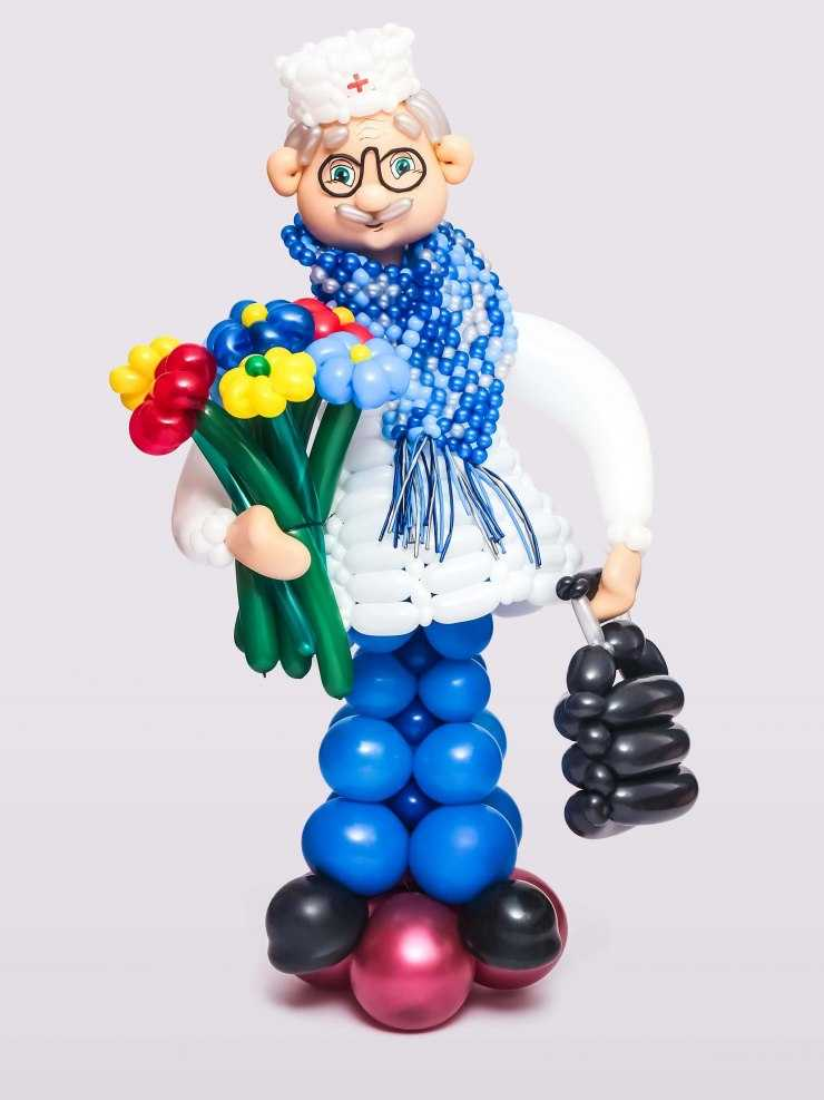 Поделки из воздушных шариков: подробные схемы и идеи изготовления игрушек и украшений (100 фото)