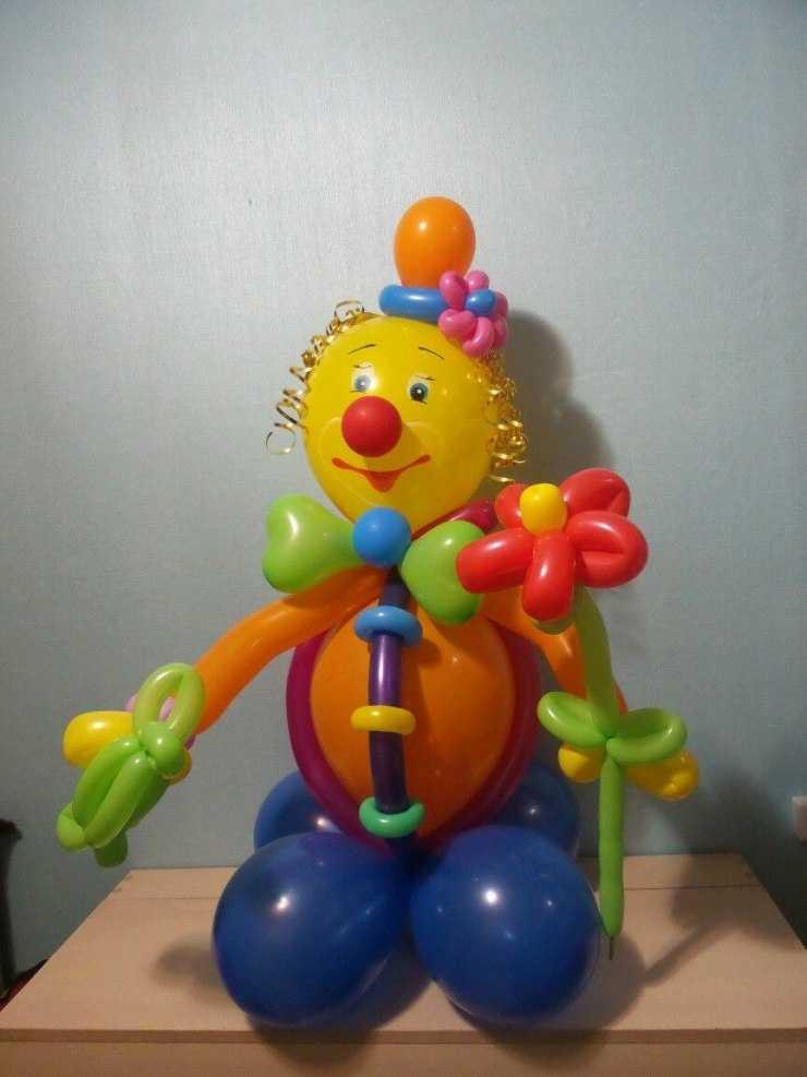клоун из шаров фото мк достойны своего