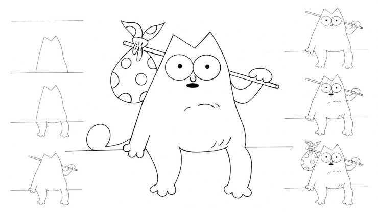 Простые рисунки для срисовки - инструкция от мастеров как сделать простую срисовку (125 фото и видео)