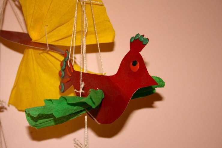 Птичка своими руками - ТОП 7 способов как и из чего сделать птичку своими руками (115 фото)