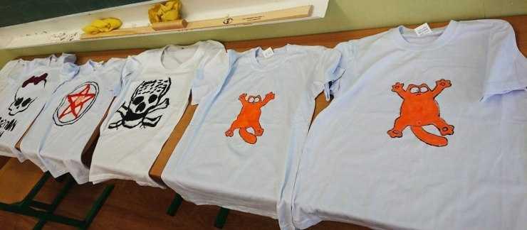 Рисунки на футболках своими руками - как сделать красивые, оригинальные рисунки и правила их нанесения (110 фото)