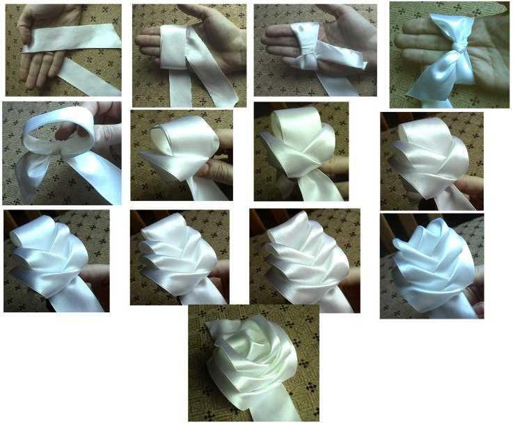 Как сделать бант своими руками - пошаговые идеи и советы мастеров изготовления бантиков из лент (85 фото и видео)