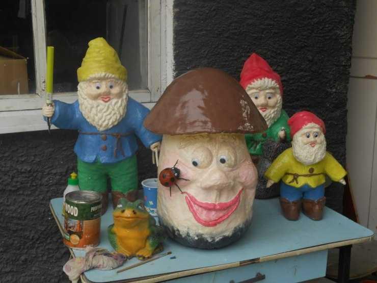 Сделать гнома своими руками - 105 фото создания садовых декоративных гномов для дома и сада