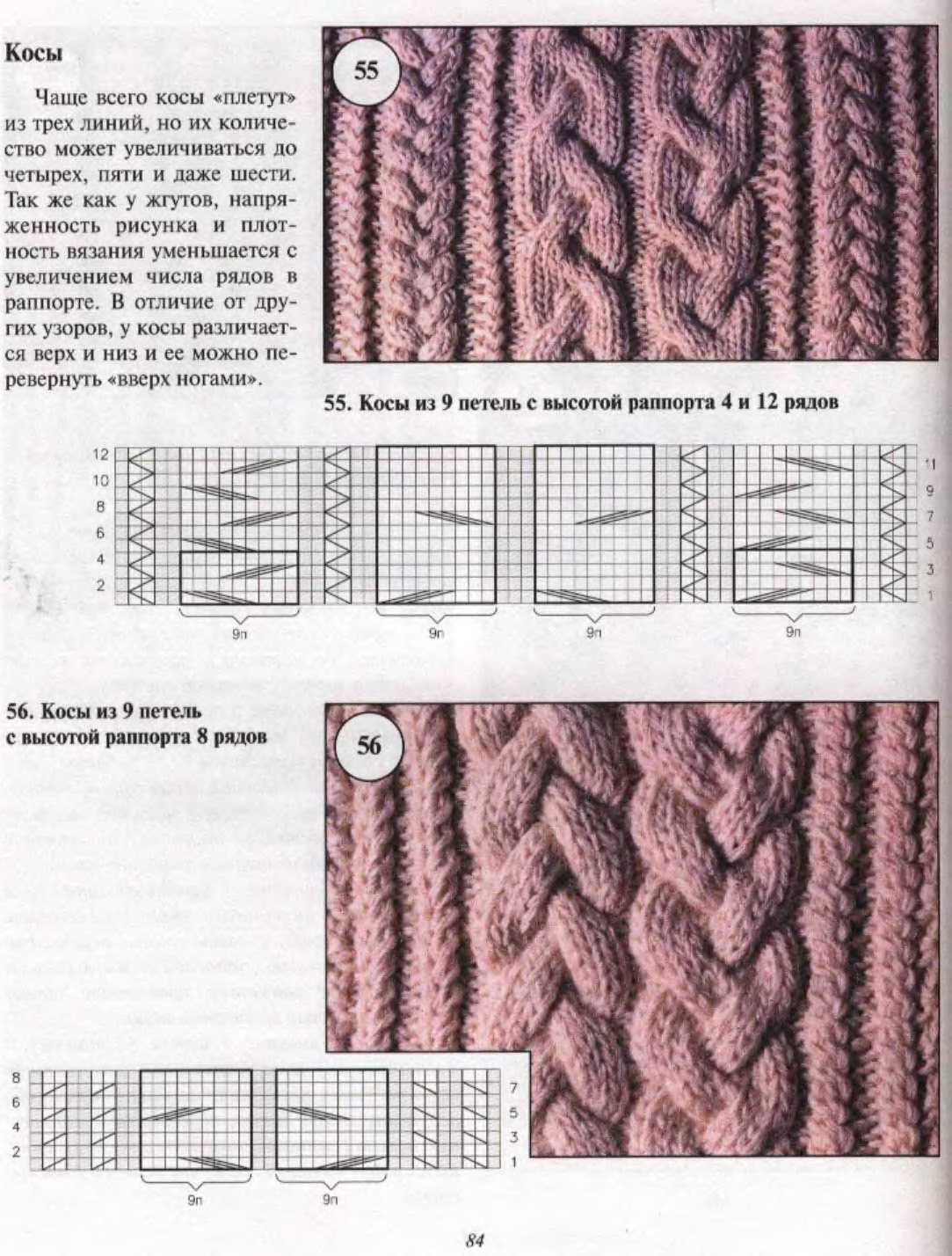 Схема вязания косы - подробная инструкция как вязать косы своими руками (135 фото и видео)