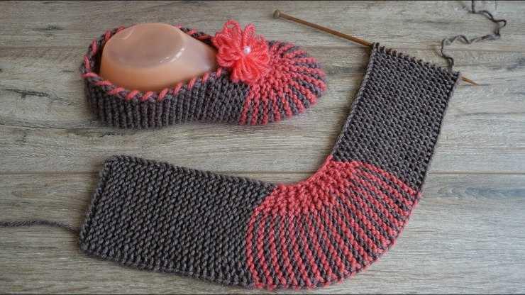 Следки спицами - пошаговый мастер-класс вязания и подробное описание возможных моделей (125 фото + видео)