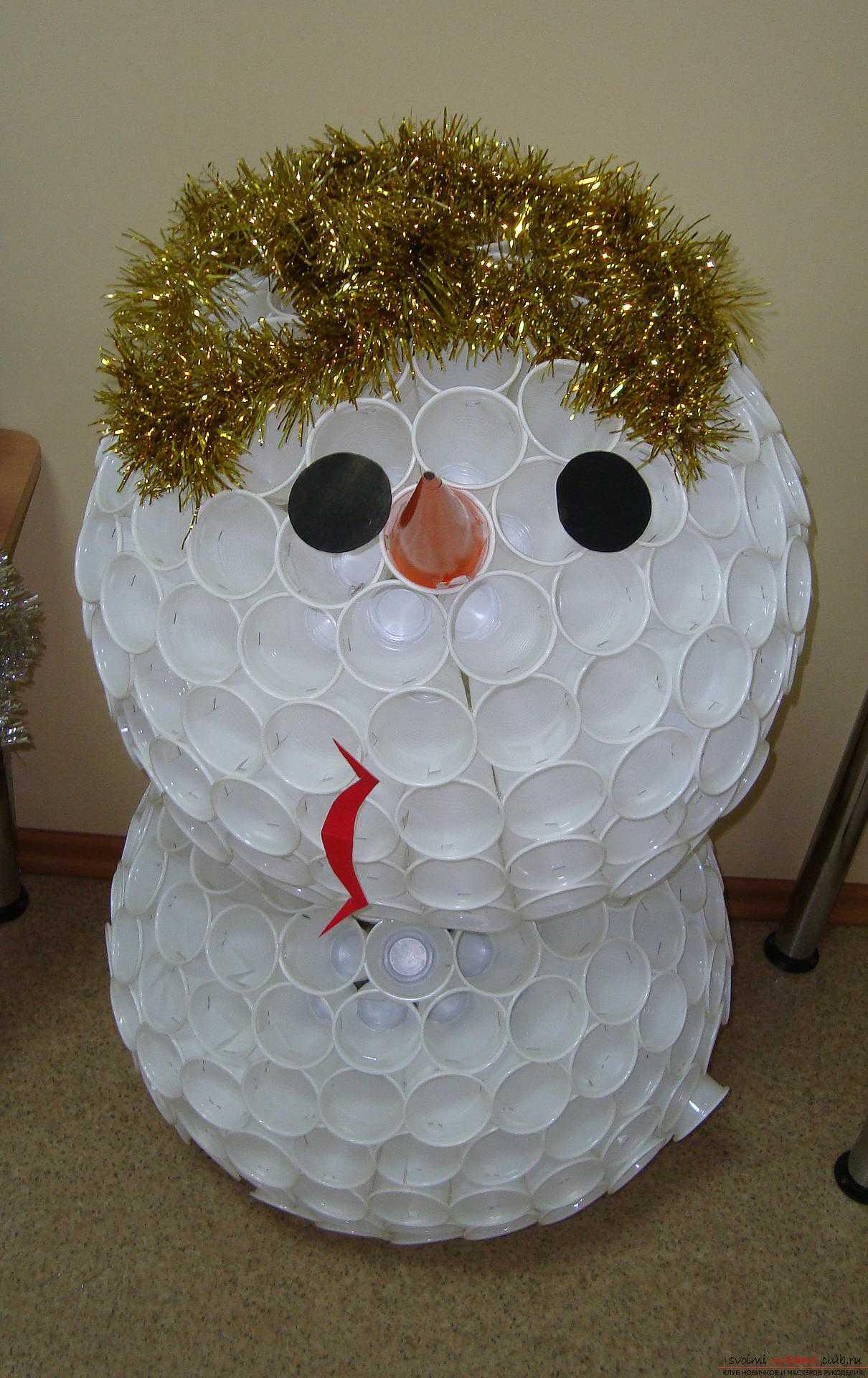 Снеговики своими руками (мастер-класс) - простая инструкция, как сделать красивого снеговика с необычным дизайном (фото + видео)