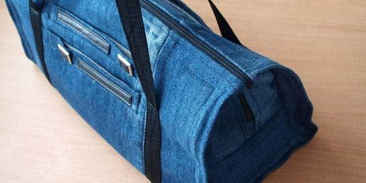 Сумка из старых джинсов своими руками - пошаговый мастер-класс, выкройки схемы и пошив сумок (120 фото + видео)