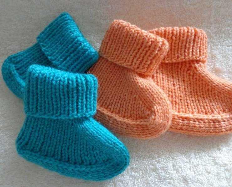 Вязание пинеток спицами - как своими руками связать простые и красивые пинетки (150 фото и видео)